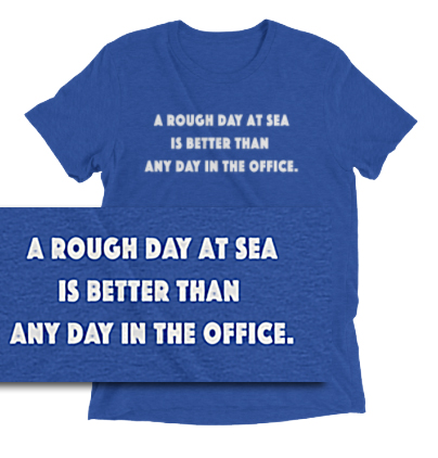 A Rough Day At Sea